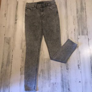 Express high waisted jeans stretchy jegging